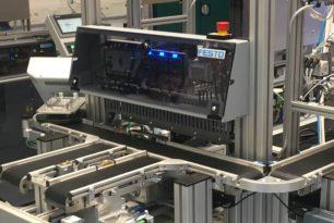 Inbetriebnahme der Produktionsanlage